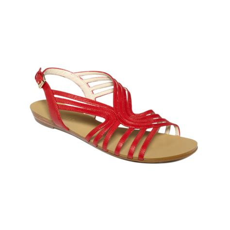 Studio Nine Flat Sandal Shoes nine west what not flat sandals in lyst