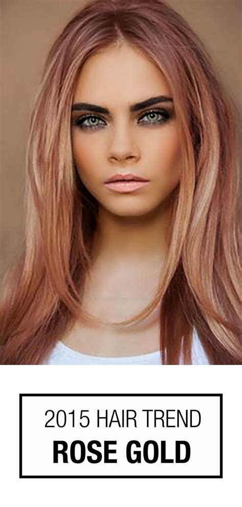 Rose Gold Hair Color | rose gold hair color this hair color trend isn t just for