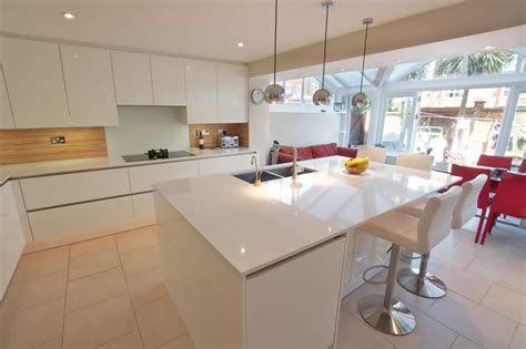 white kitchen island with breakfast bar kitchen island and breakfast bar white gloss acrylic