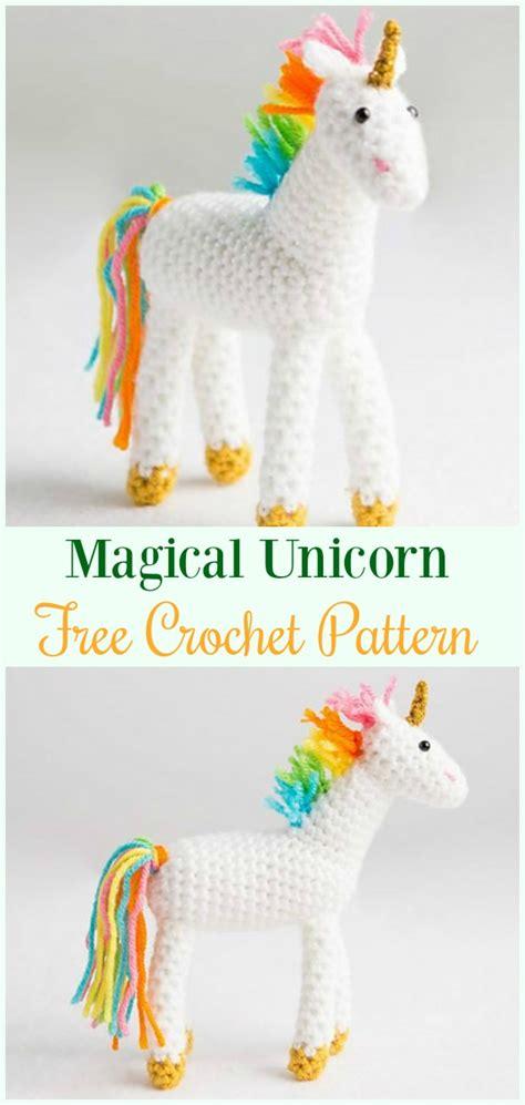 amigurumi crochet unicorn toy softies  patterns