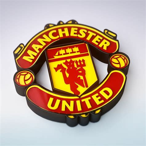 3d Manchester United manchester united logo 3d 2013 www imgkid the
