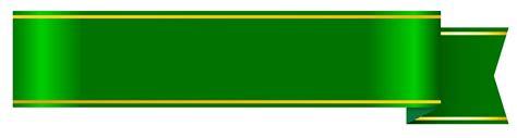 design banner green green ribbon banner clipart free design templates