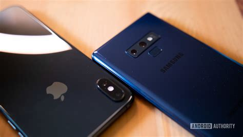samsung  apple  numbers android authority