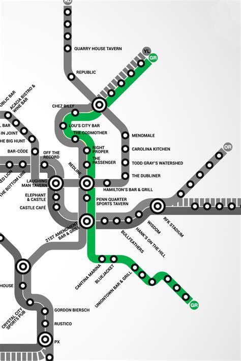 washington dc nightlife map washington dc s map of bars near the metro thrillist