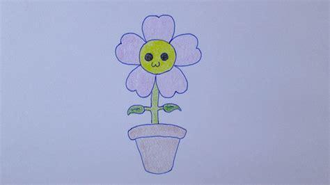 floreros para una flor como desenhar uma flor muito fofa youtube