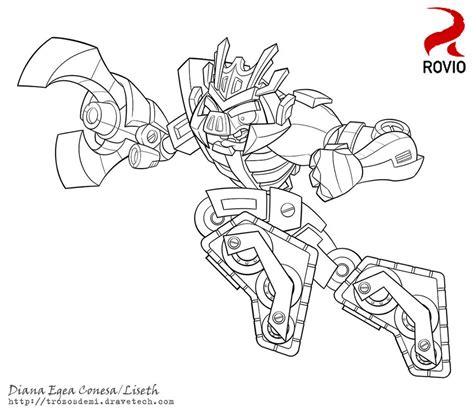 coloring pages transformers angry birds angry birds transformers megatron by liseth on deviantart