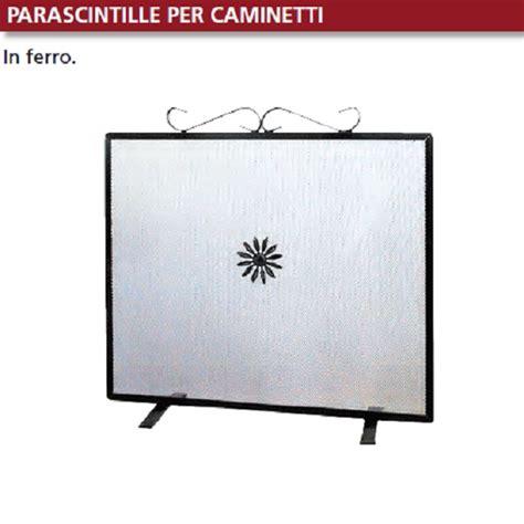 Camini Rettangolari by Parascintille Rettangolare Cm 60x55 In Ferro