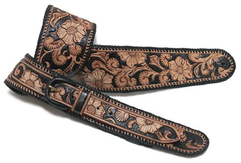 Handmade Guitar Straps - custom made leather guitar