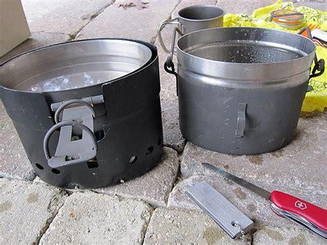 swedish army trangia a b cook set w billy can