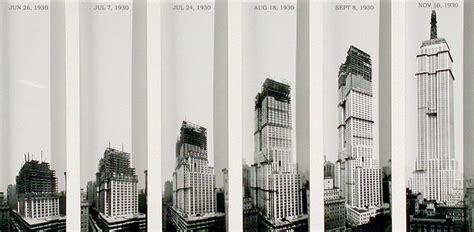 the empire state building was constructed incredibly fast
