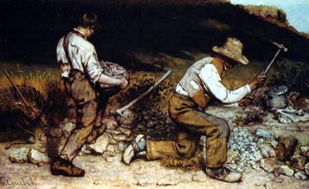 imagenes realistas de gustave courbet historia del arte el realismo