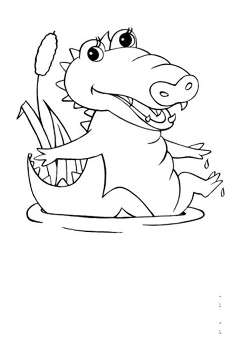 cute alligator coloring page amazing cute alligator coloring pages elaboration