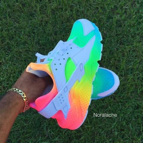 Top Interior Paint Colors 2016 by Shoes Rainbow Nike Hurraches Huarache Multicolor Nike