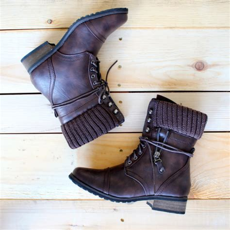 rugged booties shoes boots booties ankle boots combat combat boots brown brown boots