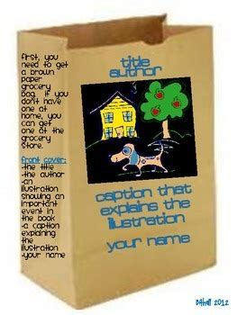 the book report brown book reports paper bag book report by go beyond tpt