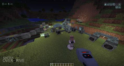 game rpg java mod matter overdrive technology minecraft mods curse