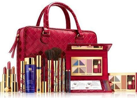 Limited Edition Tas Kosmetik Beutycase Tas Make Up Pink Laris estee lauder 2013 blockbuster ultimate color makeup gift