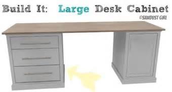 diy large desk large desk cabinet avenue collection sawdust 174