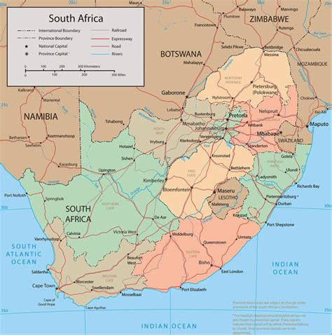 map of south map of south africa cities map of south africa pictures