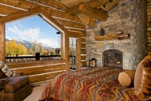 Bedroom Decorating Ideas For Log Homes Rustic Bedrooms Design Ideas Canadian Log Homes