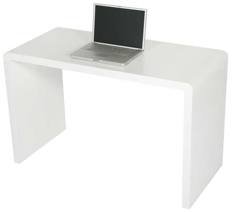 contemporary white desks modern matte white computer desk