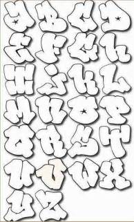 graffitie alphabet graffiti letters a z