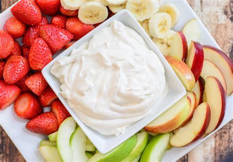 4 ingredient healthy yogurt fruit dip almost supermom