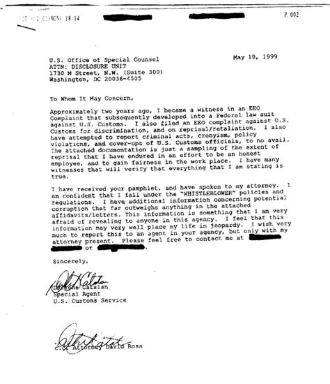 Tax Credit Investigation Letter Narco News Investigation Derailed