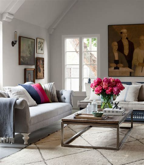 Real Living Room Ideas by Mix And Chic Home Tour Corbin Bersen And Amanda Pays