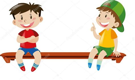 imagenes niños sentados dos ni 241 os sentados en la banca archivo im 225 genes