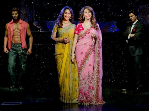 Srk House madhuri dixit s wax statue unveiled other bollywood