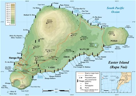 easter island map rapa nui island easter island ashtronort history s mysteries