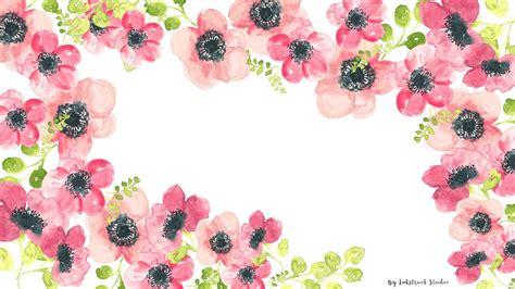 watercolor desktop background watercolor floral wallpapers inkstruck studio desktop