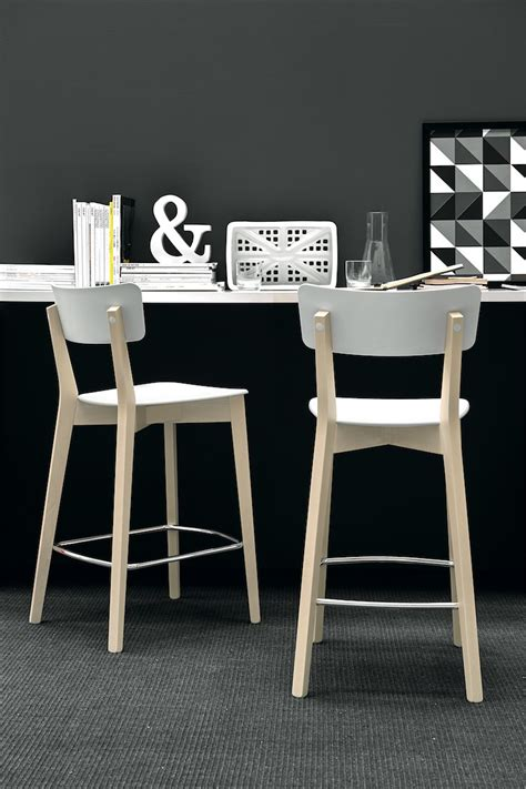 sgabello calligaris sgabello jelly altezza seduta 65 cm connubia by calligaris