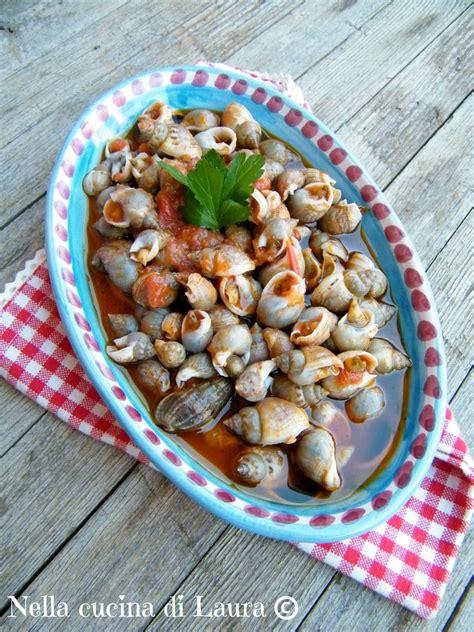 lumachine di mare come cucinarle lumachine di mare in umido