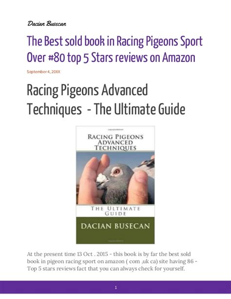 best sold books best sold book in racing pigeons sport