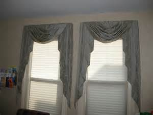 Cascade Drapes Swags Amp Jabots Brown Eyed Custom Curtains