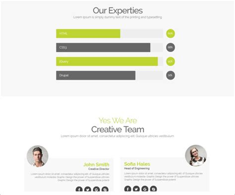 drupal one page themes one page parallax drupal theme free premium themes