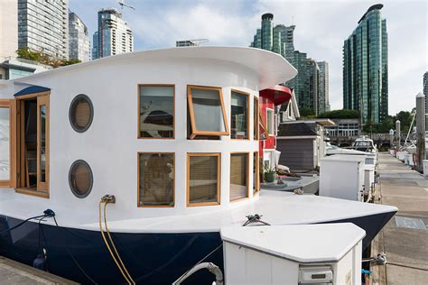 floating home interiors for west coast living cute houseboat provides affordable living with a unique