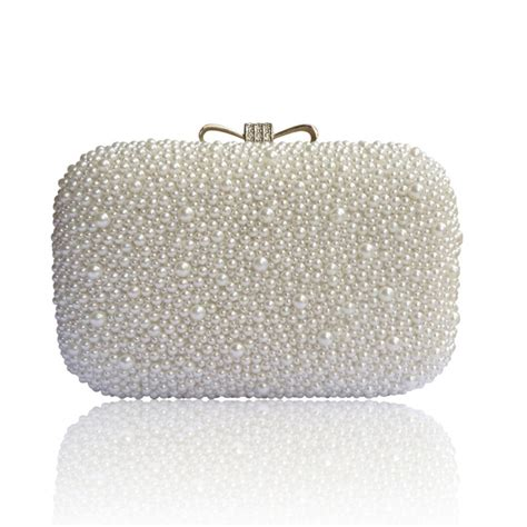 braut clutch lydc ivory hard case beaded clutch bridal bag clutch and