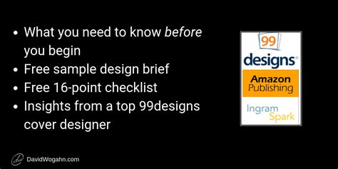 How To Use 99designs To Create Book Covers For Kdp Print And Ingramspark Ingram Sparks Cover Template