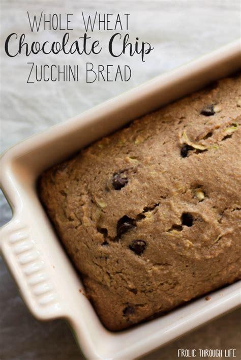 whole grain chocolate zucchini bread whole wheat chocolate chip zucchini bread