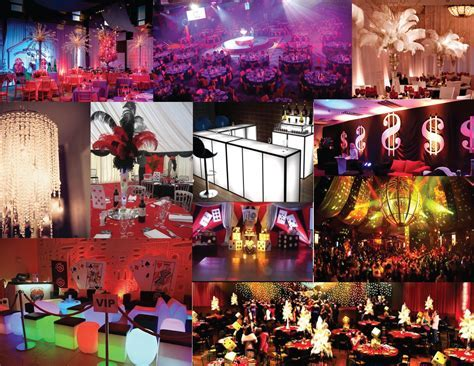 Las Vegas Themed Decor   Las Vegas event design   Pinterest