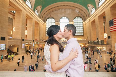 Apartment Design Ideas cindy amp mark s engagement grand central station