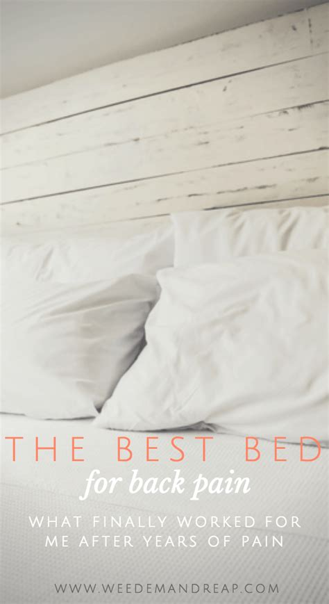 Best Mattress For Back Reviews by The Best Bed For Back Advice From A Fellow Sufferer