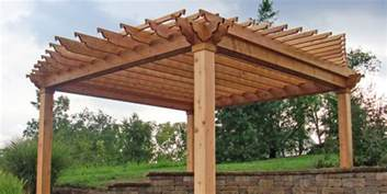 Wood Pergola by Cabanas Gazebos Pa Custom Builders Lancaster County