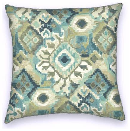 southwestern throw pillows for couch green blue southwestern style cotton decorative throw