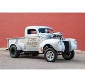 Weldon Richardsons 1941 Ford Gasser Pickup Shakes The