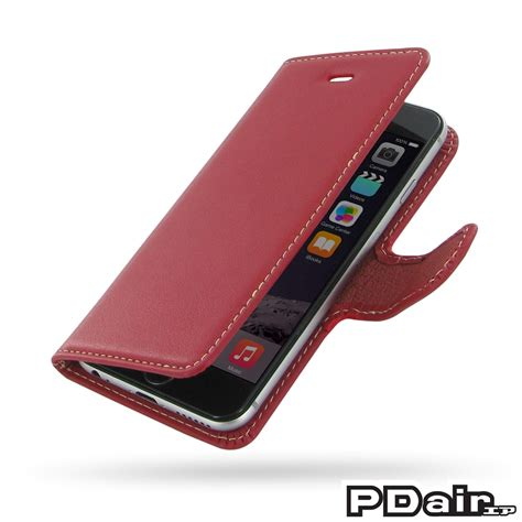 iphone 6 6s leather flip carry cover pdair