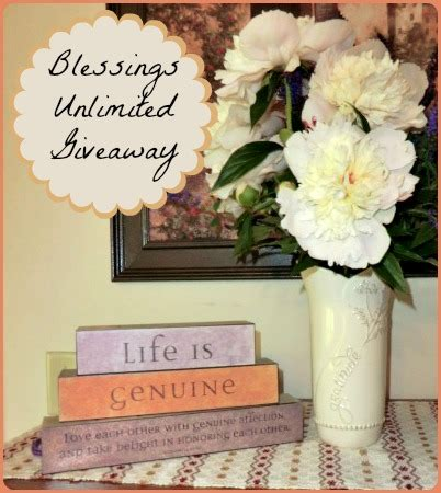 blessings unlimited by a giveaway a proverbs 31